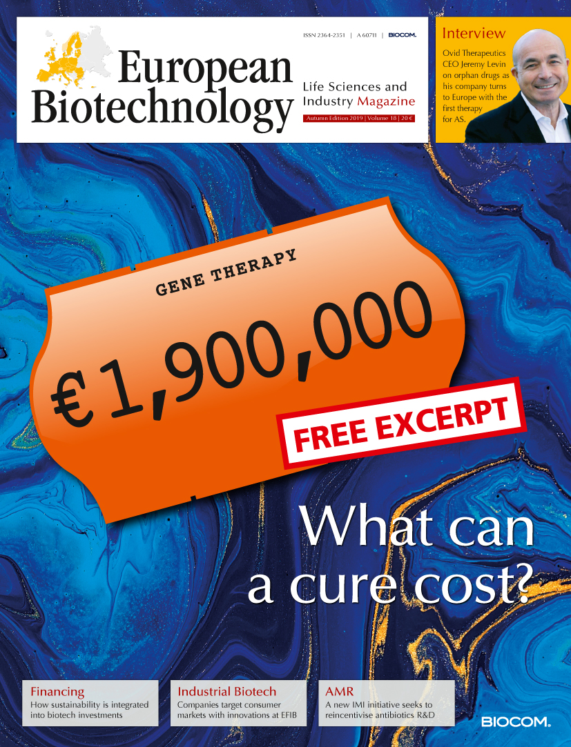 European Biotechnology - first and foremost in European