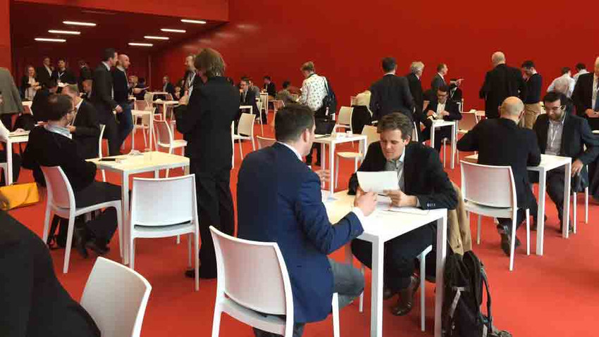 The BIOKET conferences offered a dense conference program and a B2B matchmaking. Source: BIOKET
